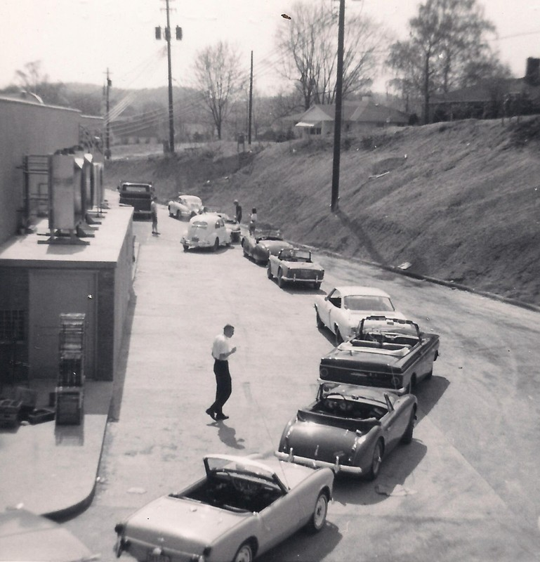 Mon Valley Sports Car Club, 1965, Autocross starting line, Suncrest A&P