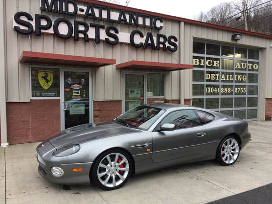 2003 Aston Martin Vantage Coupe for sale